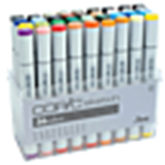 COPIC FINE/BRD 36PC COLOR SET