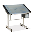 Vision Craft Station (Silver/Blue Glass)