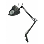 LAMP SWING ARM MAGNIFIER BLK
