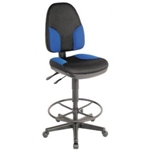 DRAFT CHAIR MONARCH BLUE & BLK