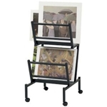POSTER/PRINT HOLDER TWIN BLACK